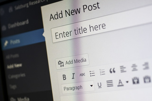 wordpress blog post marketing